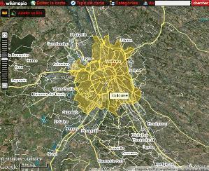 Cartographie 2.0 : intégrer des cartes Wikimapia